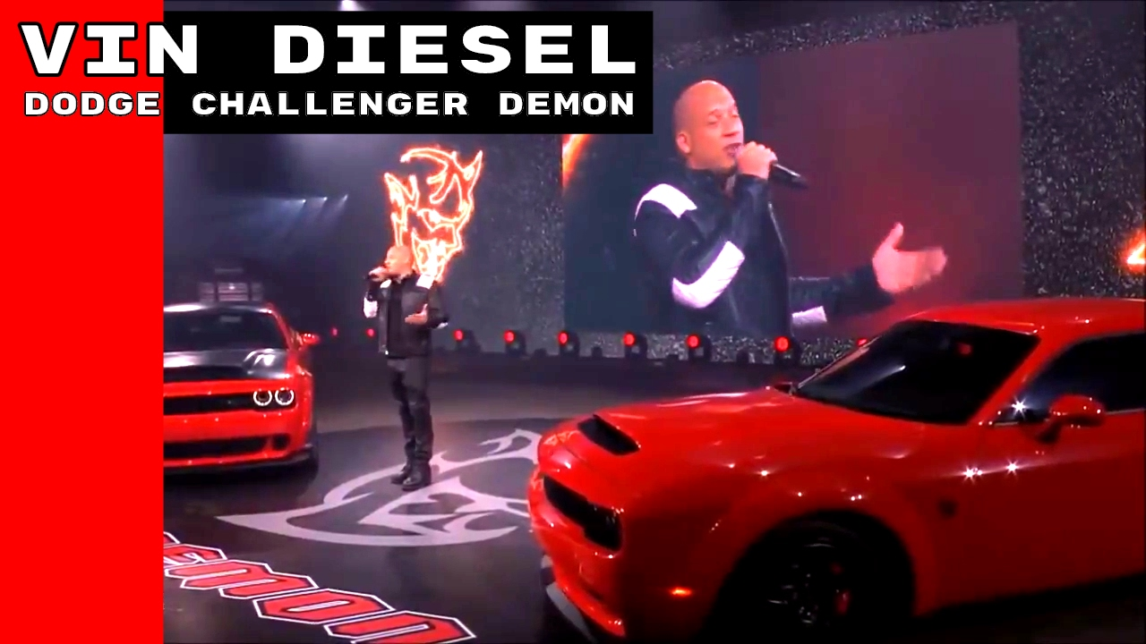 Vin Diesel Dodge Challenger Commercial >> Vin Diesel Talking About The Dodge Demon & The Fate of the Furious - YouTube