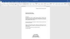 CARTA DE PETICIÓN (Como redactar una carta de petición)