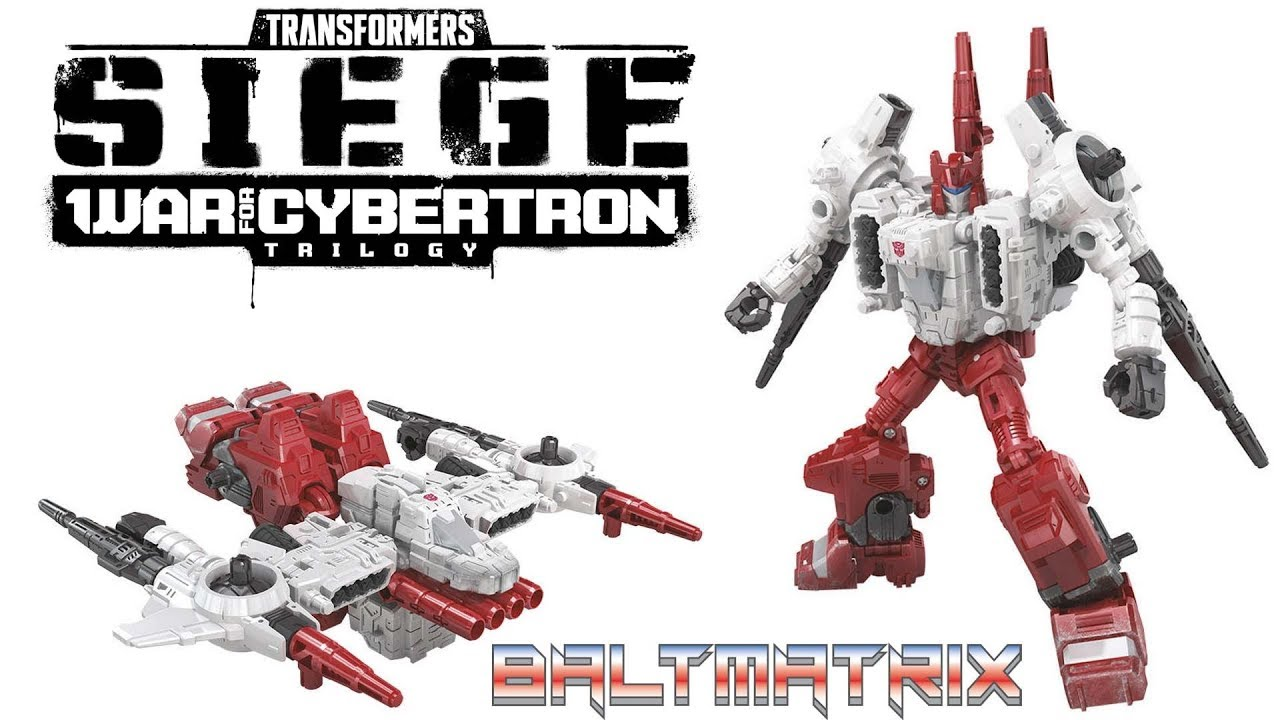 TRANSFORMERS Generations War for Cybertron Siege Deluxe Sixgun ACTION FIGURE NEW