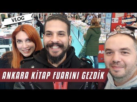 Ankara Kitap Fuarı ve Kitap Alışverişimiz   Vlog 2019