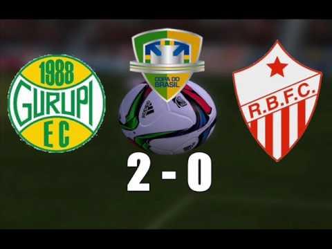 Gurupi - TO 2x0 Rio Branco-AC - 2ª Fase da Copa do Brasil 2017
