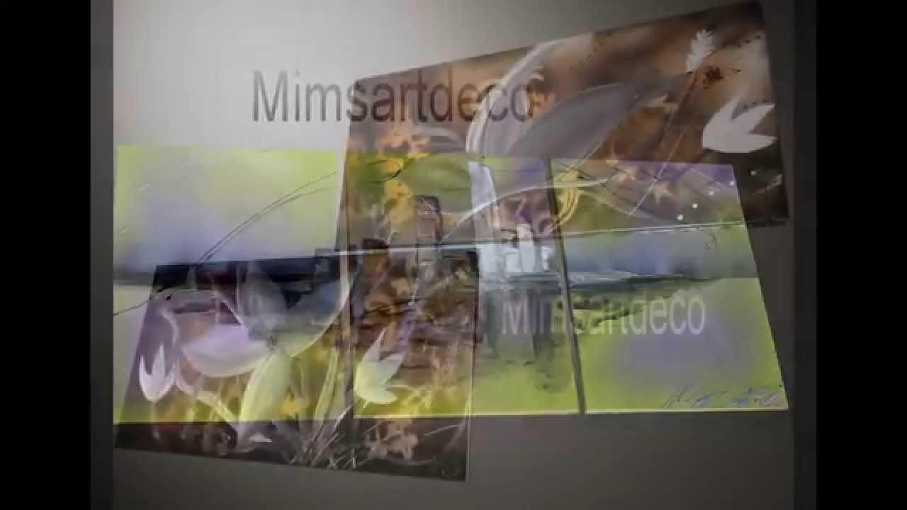Peinture abstraite tableaux moderne youtube for Peinture moderne