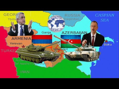 Armenia VS Azerbaijan Military Power Comparison 2017