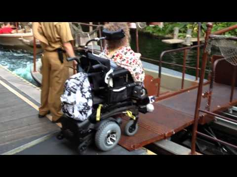 Disneyland accessible Jungle Cruise!