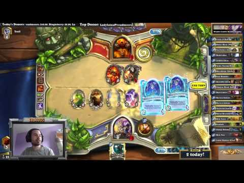 Hearthstone Twitch: Noxious SUPER LETHAL