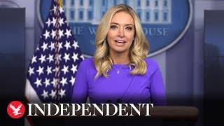 Watch again: White House press secretary Kayleigh McEnany holds briefing