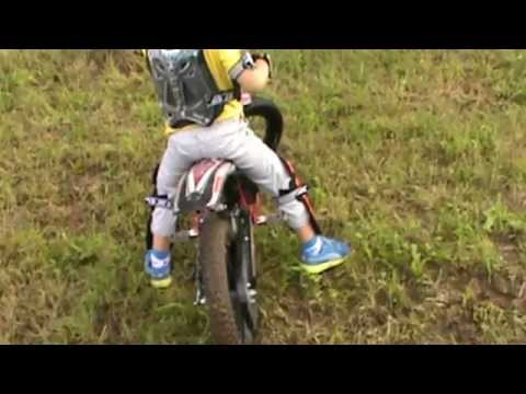 Motocross Bambini Ricky 5 Anni Trial Free Style