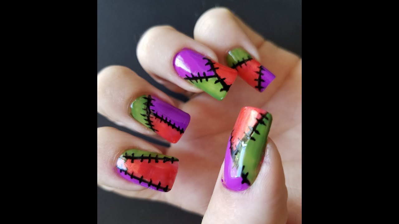 Sally Patches Nail Art Youtube