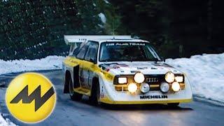 Audi Quattro S1: Onboard bei Stig Blomqvist im Audi S1