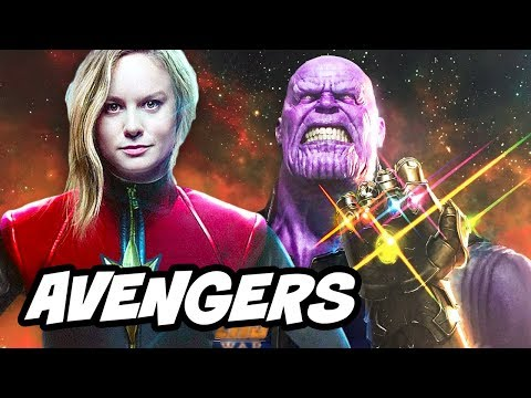 Download Youtube: Avengers Infinity War Trailer Update and Captain Marvel Theory