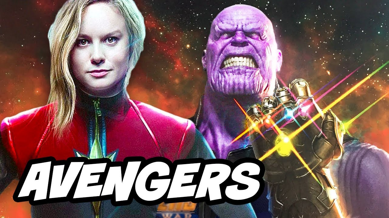 Avengers Infinity War Trailer Update and Captain Marvel Theory