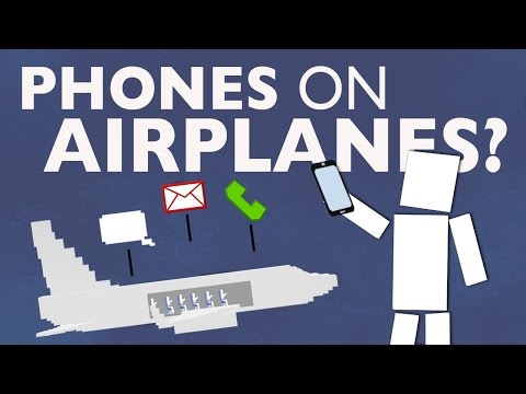 Why Can't You Use a Phone On An Airplane?