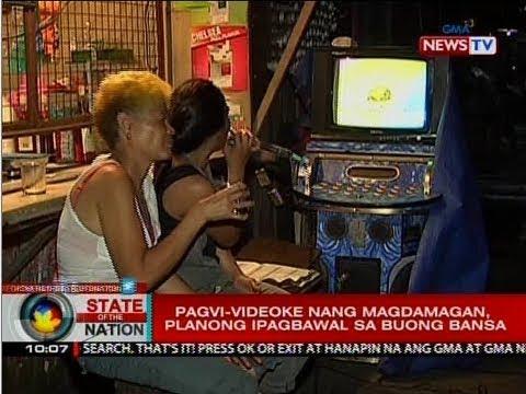 SONA: Pagvi-videoke nang magdamagan, planong ipagbawal sa buong bansa