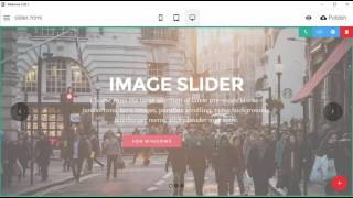 Image & Video Slider Block - Mobirise3 Bootstrap template - Mobirise 3.05 thumbnail