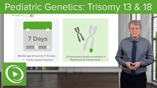 Trisomy 13 & 18 – Pediatric Genetics | Lecturio