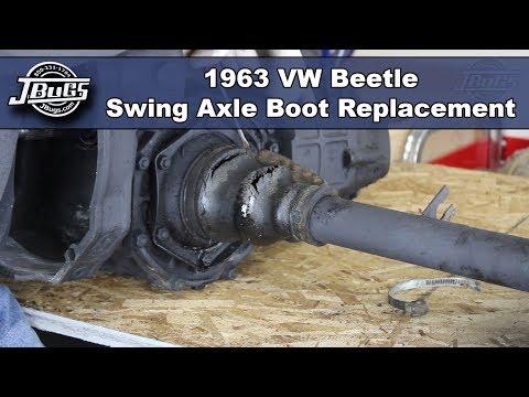 VW T1 Beetle rear axle boot