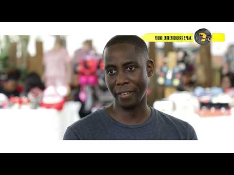 Young Entrepreneurs Speak Makafui Ayimey Accra Goods Market