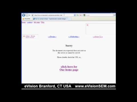 Part 2: 404 Error Pages, Technical Best Practices