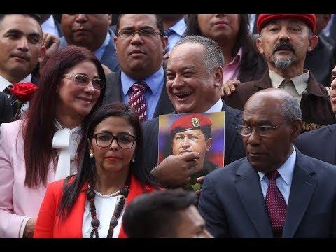 Así propuso Diosdado Cabello a directiva de la Asamblea Nacional Constituyente