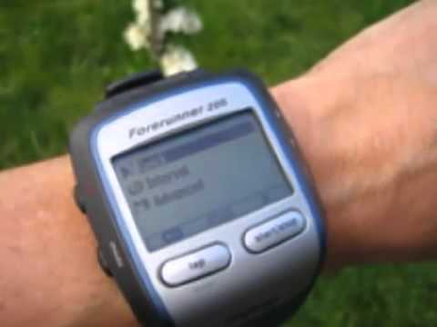 garmin forerunner 205 gps receiver and sports watch special price rh youtube com