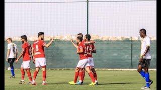 """الأهلي يفوز على """"سوكر سمارت"""" الإسباني 9-0.. وهدف استثنائي لأزارو (فيديو)"""