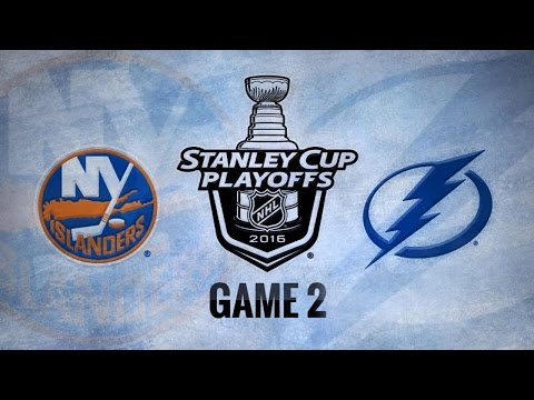 Lightning even series with 4-1 win in Game 2