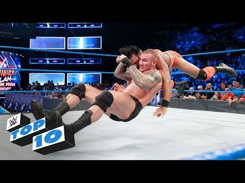 Top 10 SmackDown LIVE moments: WWE Top 10, August 8, 2017