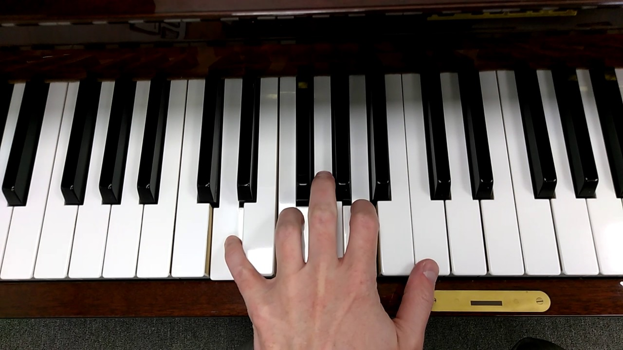 How to play a d minor 7 chord on piano youtube how to play a d minor 7 chord on piano hexwebz Gallery