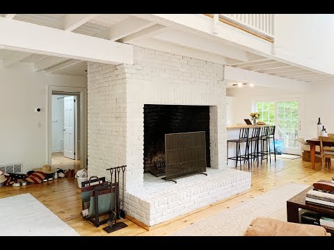 Paint your Fireplace White, we did!