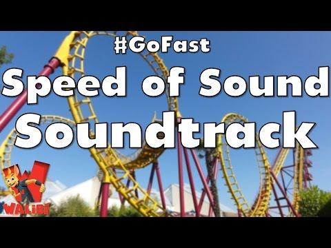 Walibi Holland - Speed of Sound Soundtrack