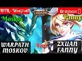 Warpath Moskov Ft Zxuan Fanny [Warpath Ft Zxuan] | BTR · Wαrקαtɦ Moskov Gameplay and Build #6