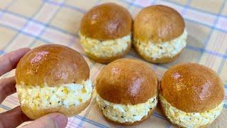 초간단 맛있는 달걀 샌드위치 레시피 Homemade e…