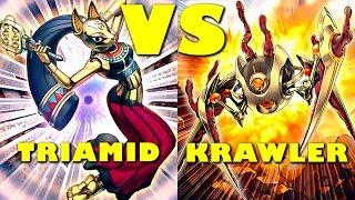 Real Life Yugioh - TRIAMID vs KRAWLER - November 2017 Scrub League