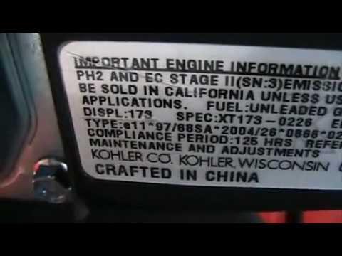 Made in China Ep 3 Kohler XT-7 Engines