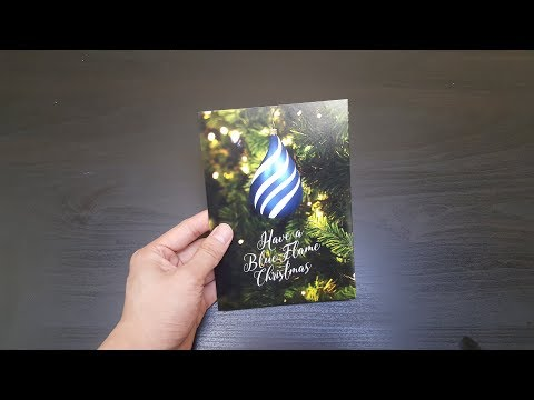 [soundCARD] Blue Flame Minerals Custom Musical Greeting Card