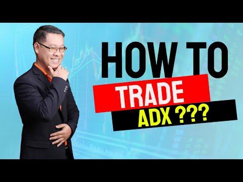Forex สอน เทรด : 074 - How to trade ADX?