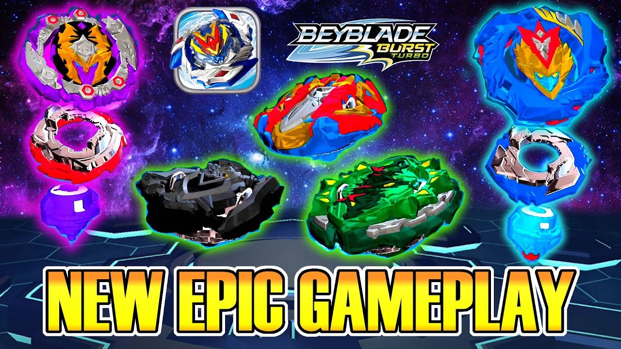 NEW HADES H4 VALTRYEK V5  BEYBLADE BURST TURBO APP GAMEPLAY CYPRUS COLLAB #1