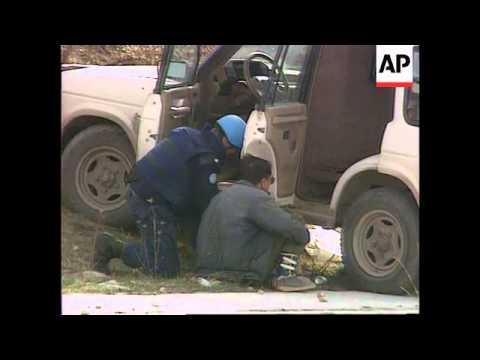 Bosnia - Sniper Fatalities & Serb Attack On Truck