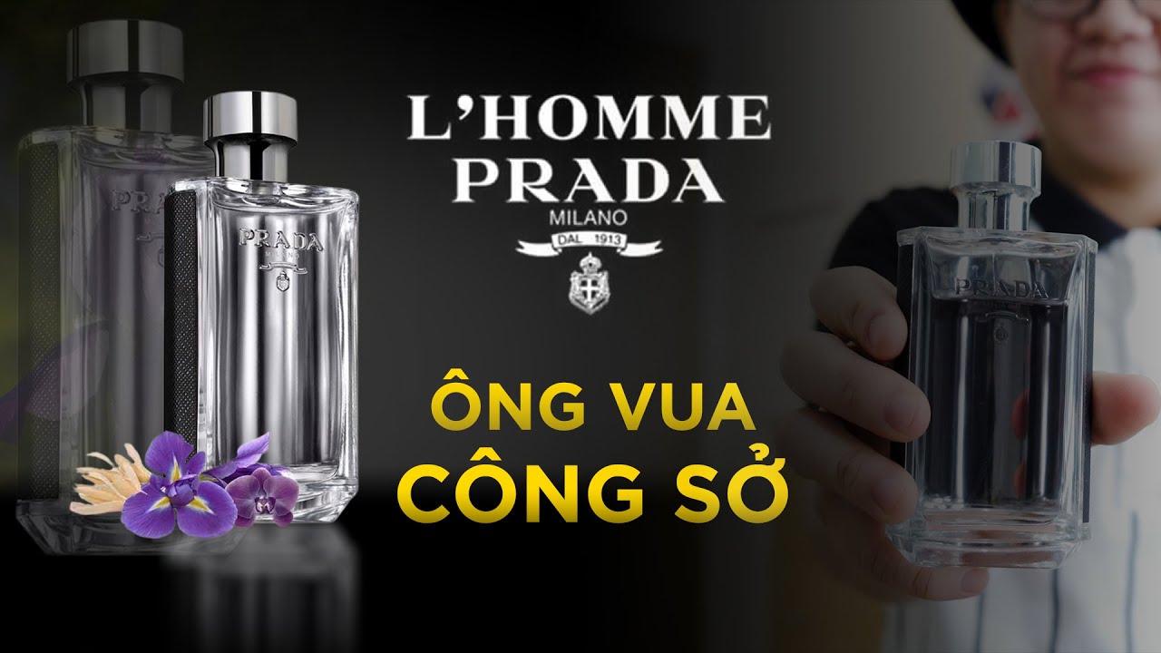 Ông hoàng chốn công sở chính là đây | Prada L'homme | namperfume TV