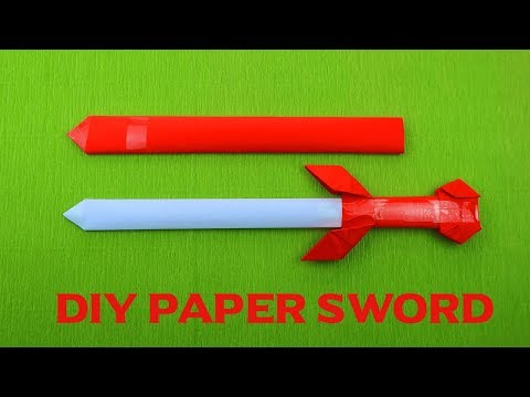 Origami paper Sword | Paper Sword | How to make a paper Sword | DIY paper Sword