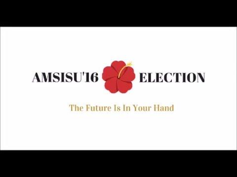 AMSISU Election 2016 | Vote Adila Jamal for Fundraising Coordinator!