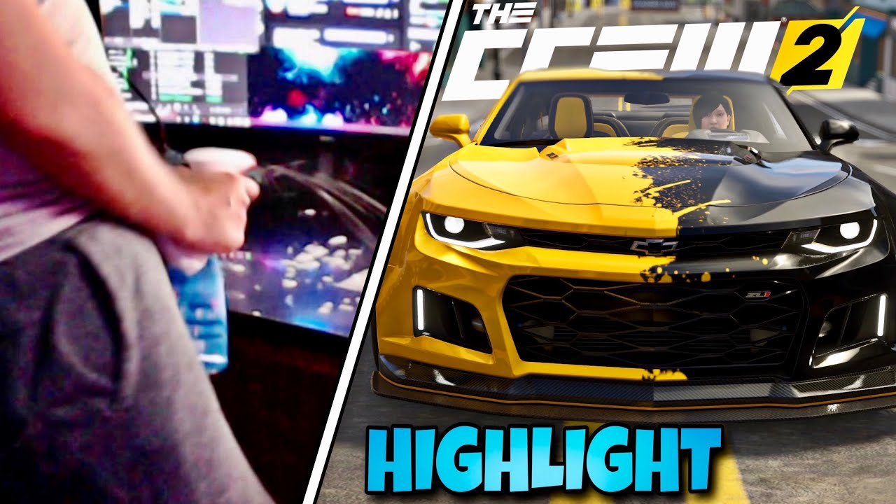 FIRST LOOK Camaro ZL1 RIFT 🧐 in THE CREW 2 - ZOQQER Highlight
