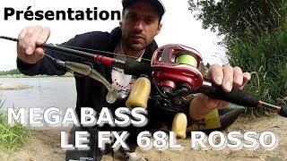 Megabass FX 68L Rosso