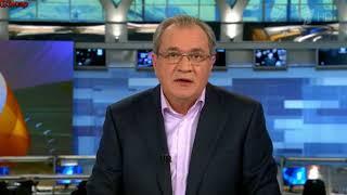 Вечерние новости на первом канале