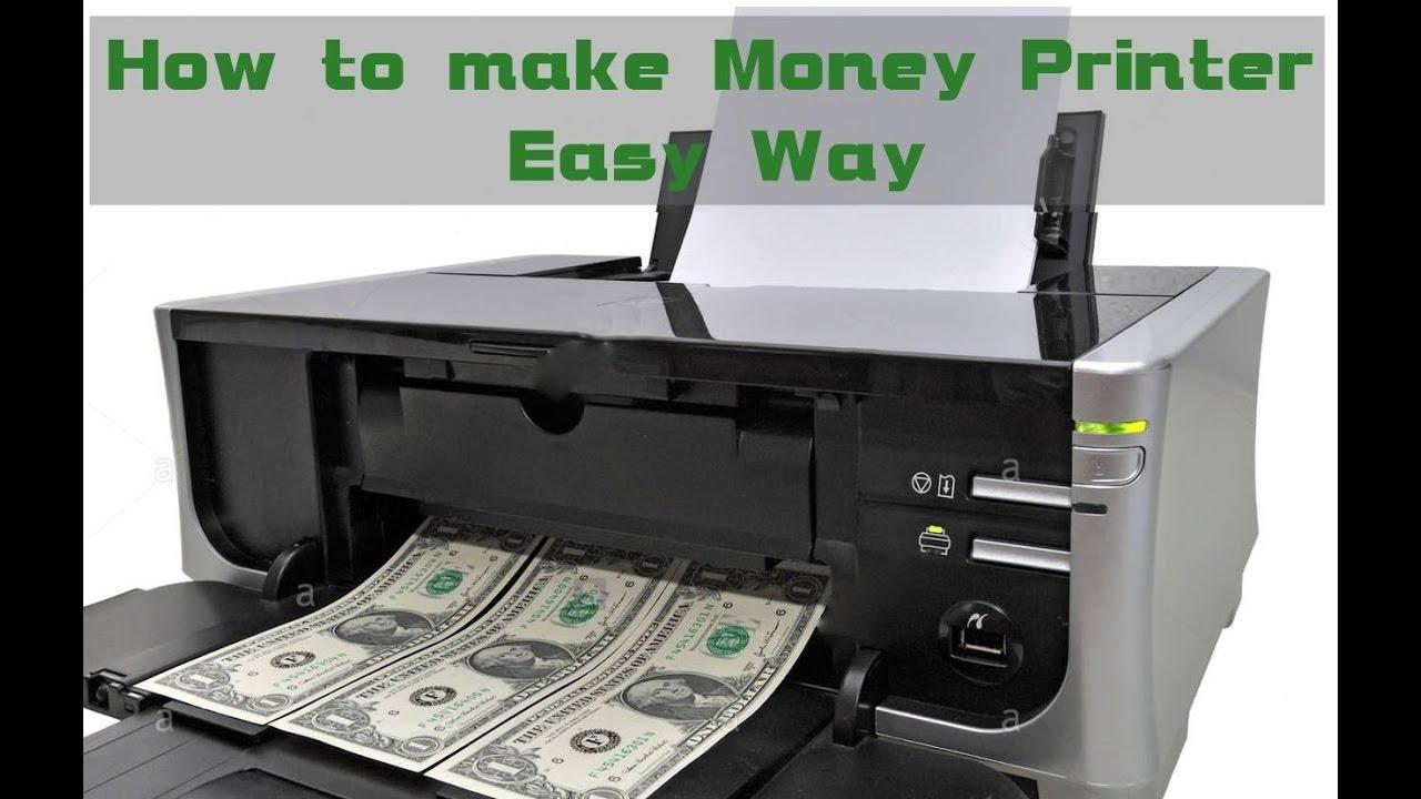 How to Make a Money Printer in home Machine - Fun Trick