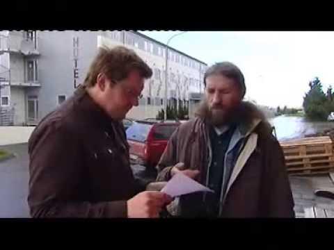 Интервью Леонида Кораблева Национальному ТВ Исландии
