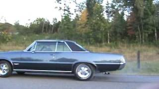 1965 GTO Burnout video
