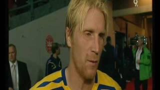 Fotbolls Skandal - Sverige mot Danmark 2007