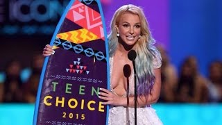 Britney Spears - 2015 TCA (Candie's Choice Style Icon)