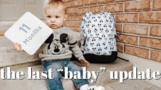 Download Lagu 10 & 11 MONTH OLD BABY UPDATE | We have a walker and a talker!! mp3